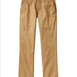 "Broken-in Loose ""toasty"" khaki pants. Size 36 x 30"